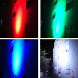 Stadt-Farben-Wand-Wäsche-Licht der Leistungs-96PCS LED im Freien