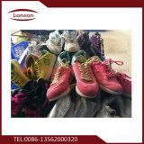 エクスポートに混合されたパッキング中古の靴を提供しなさい