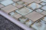 장식적인 대리석 혼합 유리제 투명한 자연적인 돌 모자이크 테이블 패턴