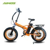 20дюйма жир с электроприводом складывания шин на велосипеде с ЖК-дисплеем