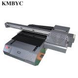 LEIDENE Byc168-6b van de Verkoop van de fabriek de Directe Digitale UV Dubbele Hoofd 7-kleur van 12 Kanaal Printer