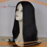 Parrucca dei capelli umani del nero 100% della natura (PPG-y-00003)