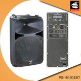 Aktiver Plastiklautsprecher 15 Zoll-Berufsdigital-Ampere Bluetooth mit Echo PS-1915debt