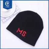 試供品のカスタム冬の帽子の帽子の昇進の設計されていた編まれた帽子