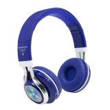 Bass bandeau stéréo Bluetooth sur l'oreille Casques casque de lumière à LED