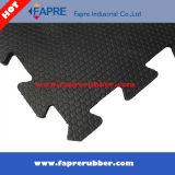 Couvre-tapis de gamme de produits de vache/cheval à hexagone de qualité