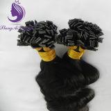 Estensione piana dei capelli di punta della cheratina pre legata #1 (FT04)