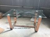 1300*800 Tabella pranzante di vetro della tabella 10mm