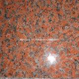 Punto rosso del granito G562 dell'acero Bullnose pieno per la scala
