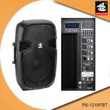 15 Spreker ps-1215FBT van de PA van Bluetooth EQ van de FM van de duim 200W USB BR de Plastic Actieve
