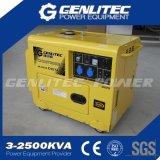 5kVA 5kw Diesel van de Enige Fase Draagbare Stille Generator