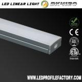 Perfil de aluminio de la protuberancia del difusor del canal de cinta de Dk4120 LED
