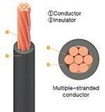 China Fabricante ou isolados com isolamento de PVC sólido 1 3 Core 2,5mm cabos de fio eléctrico