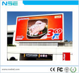Visualización de LED a todo color al aire libre P10 para hacer publicidad