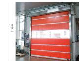 Porte à grande vitesse de PVC de portes rapides commerciales électriques d'exécution