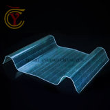 波形の多彩なガラス繊維の屋根ふきシートプラスチックFRPのパネル