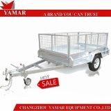 De uitstekende kwaliteit Gegalvaniseerde Aanhangwagen van de Doos voor Verkoop