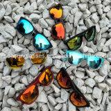 Lunettes de soleil extérieures de femmes mâles neufs de type avec la lentille polarisée de Tac