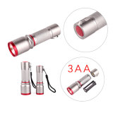 5W алюминия светодиодный фонарик початков (11-JB1801 3AA)
