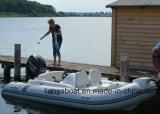 Liya14feet steifes aufblasbares Boots-Mittelkonsolen-Rippen-Boot für Verkauf