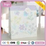 Необходимости пурпура картины цветка ежедневные одевая мешок подарка бумажный