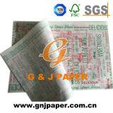 El logotipo de diversos colores personalizados en papel de envoltura de alimentos en venta