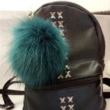keychain /Hatのための擬似毛皮POM Pomsの毛皮の球