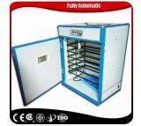 Le ce automatique de petite de reptile de prix de gros d'oeufs machine d'établissement d'incubation a reconnu