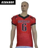 Jeux de Football Américain personnalisé uniformes de football et le pantalon de Jersey (AF020)