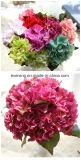 Dos Hydrangeas artificiais artificiais dos arranjos do Hydrangea da alta qualidade flores artificiais Hydrangea&#160 artificial; Peça central no Reino Unido