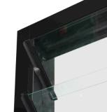 Más lumbrera de cristal Windows de la persiana de aluminio de la visión