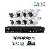 analoger HD Ahd DVR Installationssatz des CCTV-8CH Systems-1080P