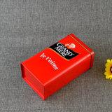 500g를 위한 광택 있는 완료를 가진 빨간 커피 콘테이너