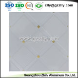 アルミニウム建築材料のローラーのコーティングの印刷の天井