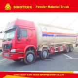 30-40ton Zz5317n3867Aのバルクセメントのトラックの/Powderタンクトラック