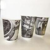 Des échantillons gratuits 16oz tasse de café à double paroi de papier