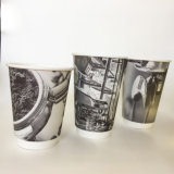 Muestras gratis 16oz de café de doble pared vaso de papel