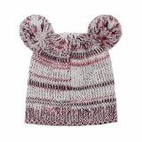Малыши младенца детей связали Beanie шлема вышивки печатание сыча теплый (HW632)