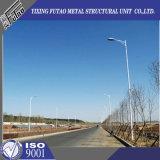 Poste de lampe de Pôle d'éclairage routier de Q235 10m