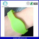 Wristbands di sguardo piacevoli di evento di frequenza ultraelevata RFID di 65mm