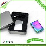 Ocitytimes USB-nachladbares Doppellichtbogen-Feuerzeug mit Geschenk-Kasten