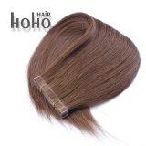 Estensione brasiliana dei capelli del nastro di Remy del Virgin del Brown da 16 pollici