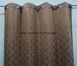 Спальня окно Chocalate шторки тканью 300см