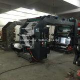 Máquina de impressão de papel econômica de Flexo do rolo térmico de quatro cores