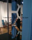 現代及び優雅な居間の家具の装飾のステンレス鋼フレームミラー