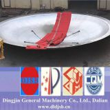 Grande tête d'assiette fabriquée par Dingjin
