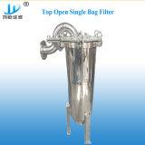Líquido sanitario único filtro de bolsa de filtro de mangas de acero inoxidable