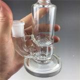 Труба водопровода самого нового стеклянного перколятора буровой вышки Recycler куря