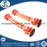 De industriële swc-I120A Gelaste Cardanas van de Plicht van het Ontwerp van de Schacht Lichte