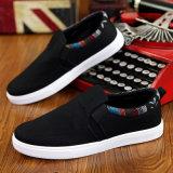 Chaussures paresseuses coréennes de pédale de toile de ressort et d'usure d'été et d'automne de chaussures de loisirs de chaussures respirables neuves de chaussures
